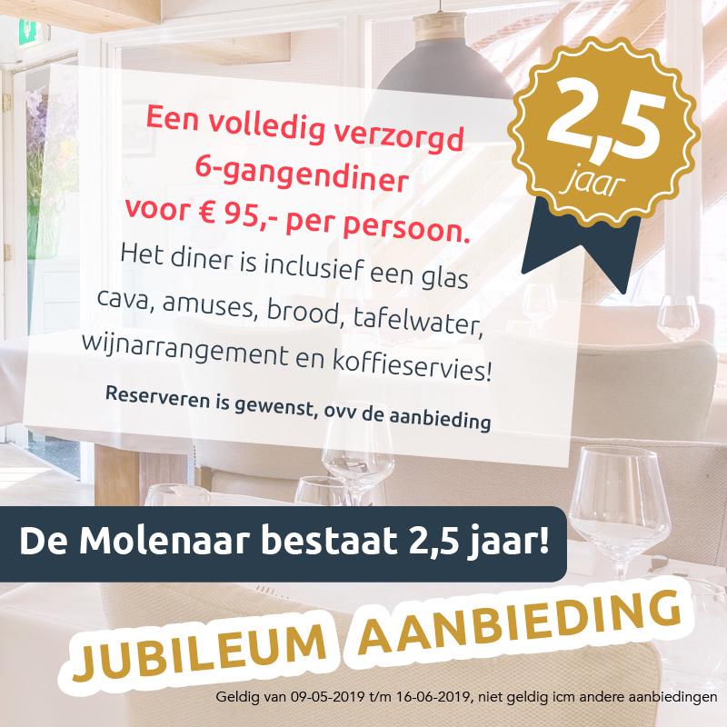80a22cd26bb Restaurant de Molenaar Onderdendam | Lunchen, dineren en overnachten